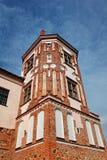 Forntida Mir Castle Arkivbilder