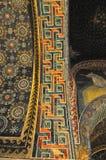 forntida mosaik Arkivbild