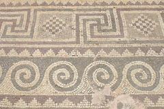Forntida mosaik Royaltyfri Fotografi