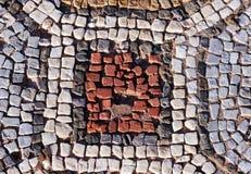 forntida mosaikmodell Royaltyfria Foton