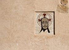 Forntida mosaiksymbol Arkivfoto