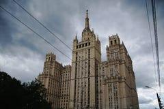 Forntida Moskvaskyskrapa Royaltyfria Bilder