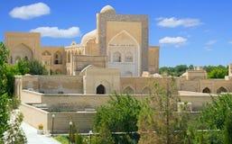 Forntida Muslimnecropolis i Bukhara, Uzbekistan royaltyfria foton