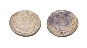 Forntida mynt Arkivbilder