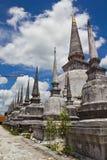 forntida nakornsripagodathailand thammarat arkivbild