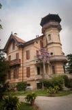 Forntida nobel venetian villa Royaltyfri Fotografi