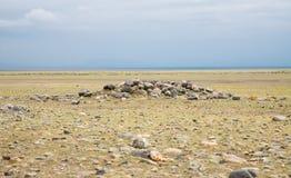forntida nomadstombs Arkivbilder