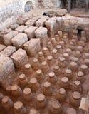 forntida offentligt badhus royaltyfri foto