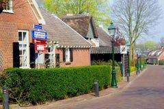 Forntida område (Kerkebuurt) i Soest, Nederländerna Arkivfoton