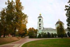Forntida ortodox kyrka Royaltyfria Bilder