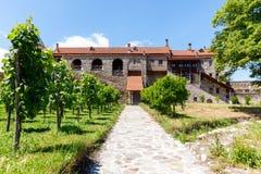 Forntida ortodoxt klosterkomplex av Alaverdi Arkivfoton