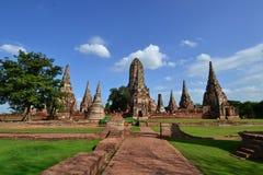 Forntida pagoda och blå sky Royaltyfri Bild