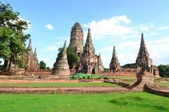 Forntida pagoda och blå sky Royaltyfri Fotografi