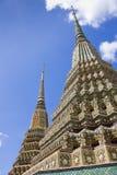 Forntida Pagoda på Wat Pho Fotografering för Bildbyråer