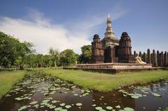 forntida pagoda siam Royaltyfri Foto