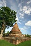forntida pagoda thailand Royaltyfri Fotografi