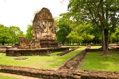forntida pagoda thailand Arkivfoto