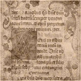 forntida paper parchmenttext Royaltyfria Foton