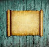 forntida paper scroll stock illustrationer
