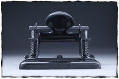 forntida paper stansmaskiner Arkivbilder