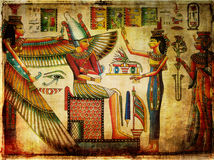 forntida papyrus Royaltyfri Foto
