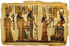 forntida parchment Arkivbild