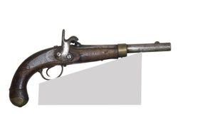 Forntida pistol Arkivbild