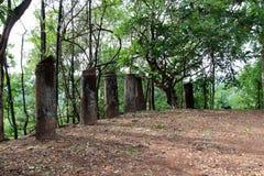 Forntida plats Arkivfoton