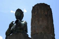 forntida pompeii Arkivfoton