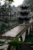 forntida porslinstad zhenyuan guizhou Arkivfoton