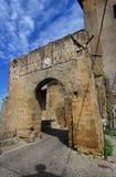 Forntida port av Faleria Arkivbild