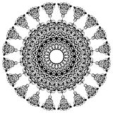 forntida prydnad royaltyfri illustrationer
