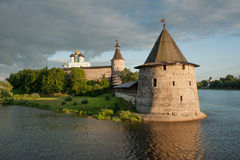 Forntida Pskov Royaltyfri Fotografi