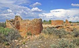 Forntida Pueblo på Hovenweep Royaltyfria Foton