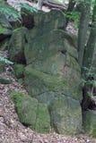 forntida rock Arkivbild