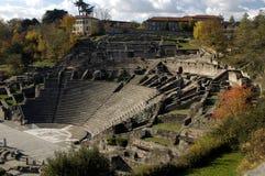 Forntida roman arena Fotografering för Bildbyråer