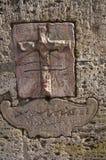 Forntida Roman Carvings royaltyfria foton