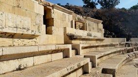 Forntida Roman City - Beit Shean Royaltyfri Foto