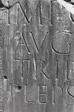 Forntida Roman Engraving Fotografering för Bildbyråer