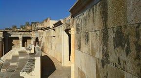 forntida roman för amphitheater Arkivbild