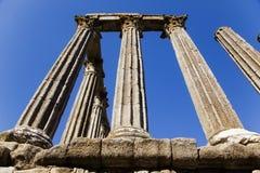 forntida roman fördärvar arkivbilder