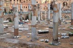 Forntida Roman Forum, Rome arkivfoton