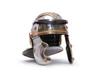 Forntida Roman Helmet Arkivfoto