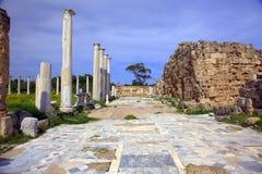 forntida roman salamislokal arkivbild