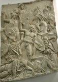 Forntida roman snida för sten Royaltyfria Bilder
