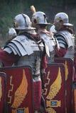 Forntida roman soldater 2 Arkivfoton