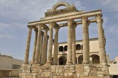 forntida roman tempel Arkivfoton