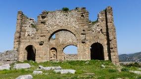 Forntida romanian fördärvar i Turkiet Fotografering för Bildbyråer