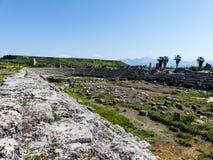 Forntida romanian fördärvar i Turkiet Arkivfoton