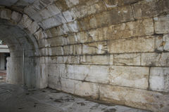 Forntida rome byggnad Arkivbild